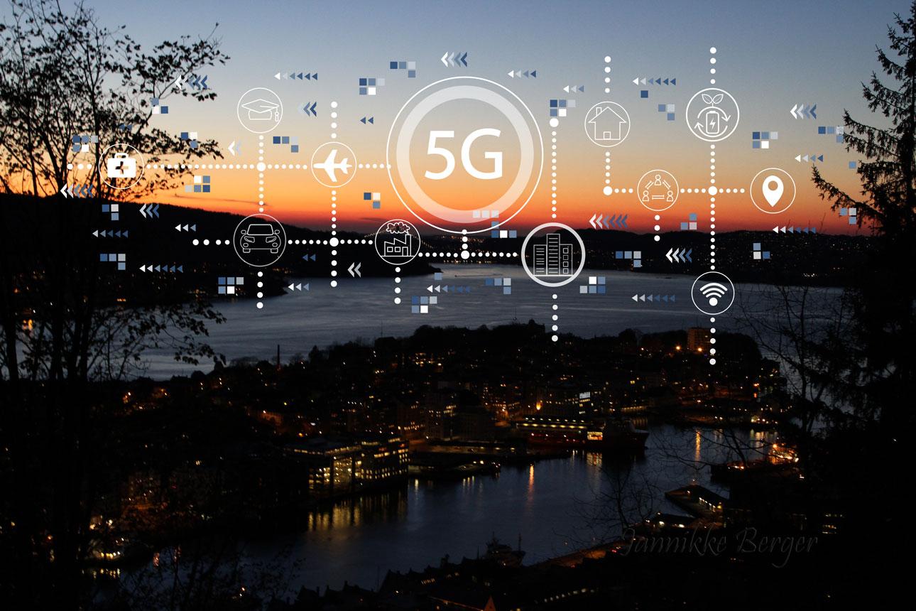 5G versus 4G enkelt visualisert